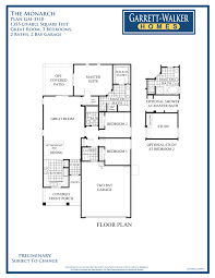 garrett walker homes harmony 21 community this floor plan shows