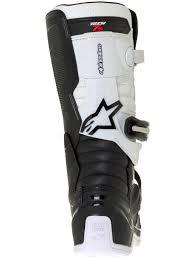 motocross boots for kids alpinestars black white tech seven s kids mx boot alpinestars