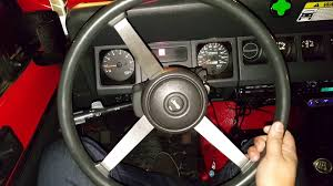 jeep steering wheel 95 yj accelerates when turning wheel youtube