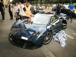 koenigsegg huayra price 1 of 1 pagani huayra pearl crashed in paris gtspirit