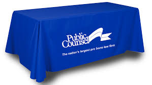 Logo Table Cloth by Table Throw Custom Table Wrapper Custom Tablecloth Design