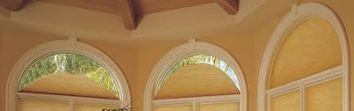 Circle Window Blinds One Stop Decorating In Kansas City Arched Windows With Style