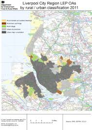 Liverpool England Map by Local Enterprise Partnership Detailed Rural Urban Maps Census
