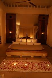 bedroom cute romantic bedrooms with roses and candles