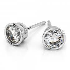diamond stud size diamond stud earrings brilliance