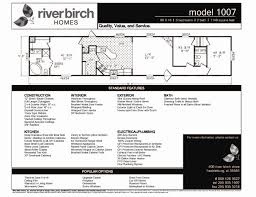 riverbirch homes single wide floor plans river birch homes single wide floor plans