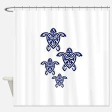 Sea Turtle Bathroom Accessories Sea Turtle Shower Curtains Cafepress