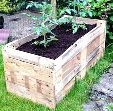 pallet planter box diy pallet planter box ideas pallet planter box
