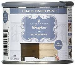 how to paint cabinets fast amitha verma chalk finish paint no prep one coat fast drying diy makeover for cabinets furniture more 4 ounce manor beige