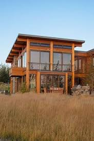 shed roof houses exterior large windows shed roof warm wood feels like a modern