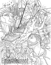 create your own version of u0027american gods u0027 with new coloring book