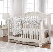 easton linens gray taupe and seafoam bumperless crib bedding