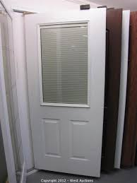 Exterior Door Window Inserts West Auctions Auction Surplus Equipment And Materials From