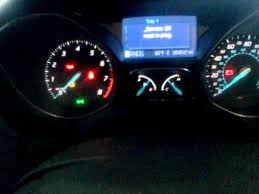 ford focus check engine light 2012 ford focus oil life reset youtube