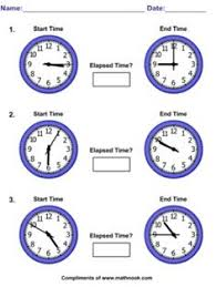 illustrated worksheets for telling time includes time word