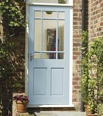 Exterior Back Doors Clear External Door 1 With Max Aperture To Let Light Shine Through