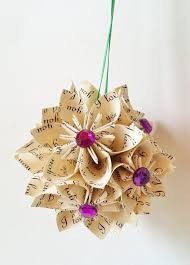 25 easy paper christmas ornaments you can make at home craft