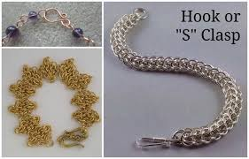 round necklace clasp images Types of jewelry clasps and how to use them in projects jpg