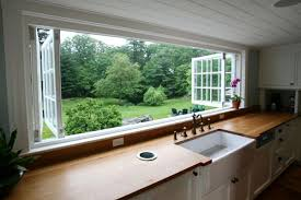 kitchen window design ideas a renovation home has a large kitchen window decor advisor