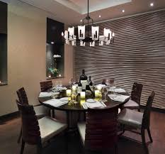 modern chandelier dining room lighting fixtures over a rounded