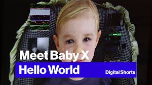 this freaky baby could be the future of ai watch it in action