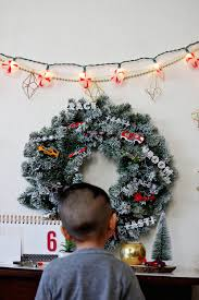 wheels christmas wreath diy u2014 all kids are gifted