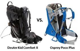 Kid Comfort Iii Deuter Kid Comfort Ii Vs Osprey Poco Plusthe Best Baby Carriers