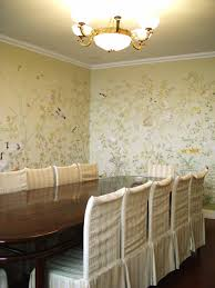Hand Painted Wallpaper by Chinoiserie Hand Painted Wallpaper Chinoiserie 47 La Chibeau