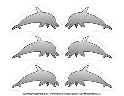 free dolphin clipart printable coloring pages outline u0026 silhouette
