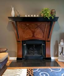hand crafted art nouveau fireplace by mevans design custommade com
