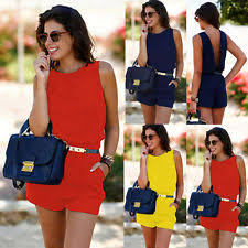 Red Jumpsuits For Ladies Red Jumpsuits U0026 Rompers For Women Ebay
