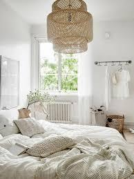 chambre rotin chambre à coucher lustre en rotin chmabre à coucher blanche