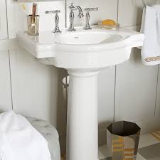 Bathroom Sinks With Pedestals Retrospect 27 Inch Pedestal Sink American Standard