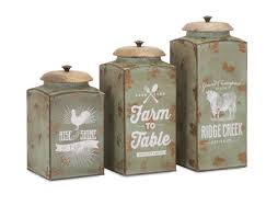 Canister For Kitchen by Gracie Oaks Lidded 3 Piece Kitchen Canister Set U0026 Reviews Wayfair