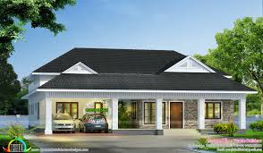 modern bungalow architecture 2000 sq ft kerala home design and