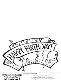 banner coloring pages birthday coloring pages giggletimetoys com