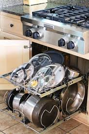 27 lifehacks for your tiny kitchen kitchen cabinet pots and pans organization 3 kevin amanda