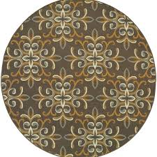 Cheap Area Rugs Free Shipping Stylehaven Floral Grey Gold Indoor Outdoor Area Rug Free