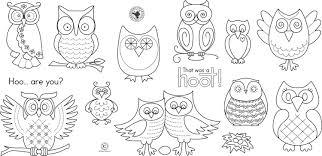 6 best images of patterns felt owl owl printable felt owl