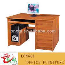 bureau d ordinateur pas cher pas cher haute qualité mdf bois table ordinateur de bureau