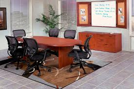 Racetrack Boardroom Table Closeout Laminate Racetrack Conference Table
