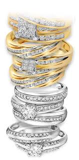 stackable wedding bands stackable trio ring sets my trio rings