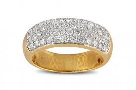 mens yellow gold wedding bands 2 10ct diamond mens yellow gold wedding band