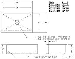 Kitchen Sink Width Alluring Average Kitchen Sink Width Home Design Plan