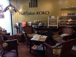 they specialize in gel nail designs they even have their own