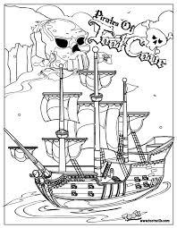 donald pirate coloring coloring