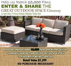 Outdoor Resin Wicker Patio Furniture by Best 25 Wicker Patio Furniture Ideas On Pinterest Grey Basement