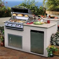 Backyard Grill 2 Burner Gas Grill by Cal Flame 6 Ft Bbq Island With Granite Top U0026 Gas Grill White