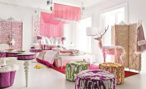 decor pretty room ideas for home decoration inspiration nysben org pretty room ideas using pink theme plus white bench and lovely ottoman for bedroom decoration ideas