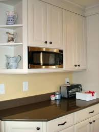 kitchen microwave ideas best corner microwave ideas on cabinet finished corner microwave